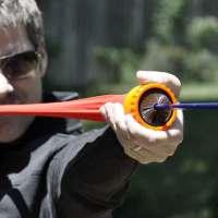 Tirachinas de bolsillo dispara flechas