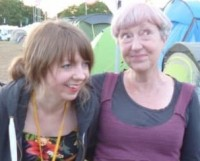 Deborah Pawle and her daughter Charlotte