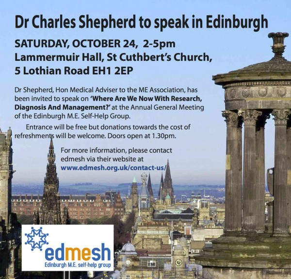Edinburgh event 241015