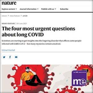 Nature Article: The four most urgent questions about long COVID
