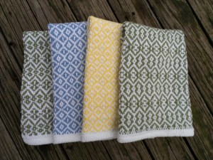 point twill towels