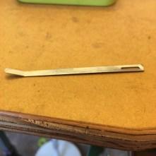 Flat Bent Tip Needle