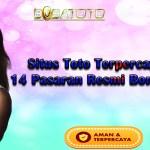 Situs Toto Terpercaya Dengan 14 Pasaran Resmi Bonus Terbesar