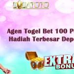 Agen Togel Bet 100 Perak Dengan Hadiah Terbesar Deposit Pulsa