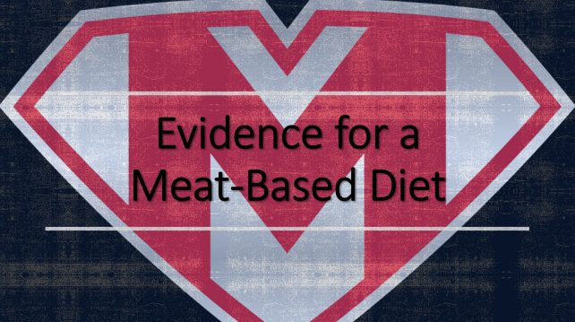 Evidence for a Meat-based Diet