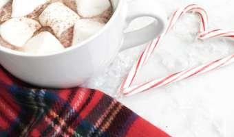 hot chocolate holidays festive