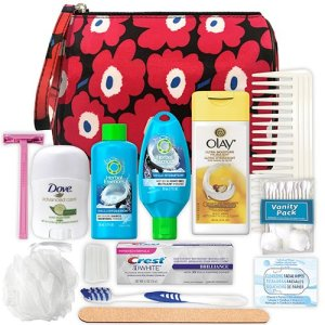 assorted toiletries for women