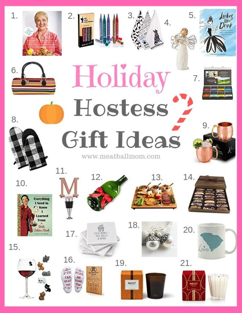Holiday Hostess Gift Ideas fall/winter