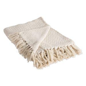 zigzag-blanket-throw-with-fringe