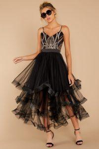 black-embroidered-midi-dress