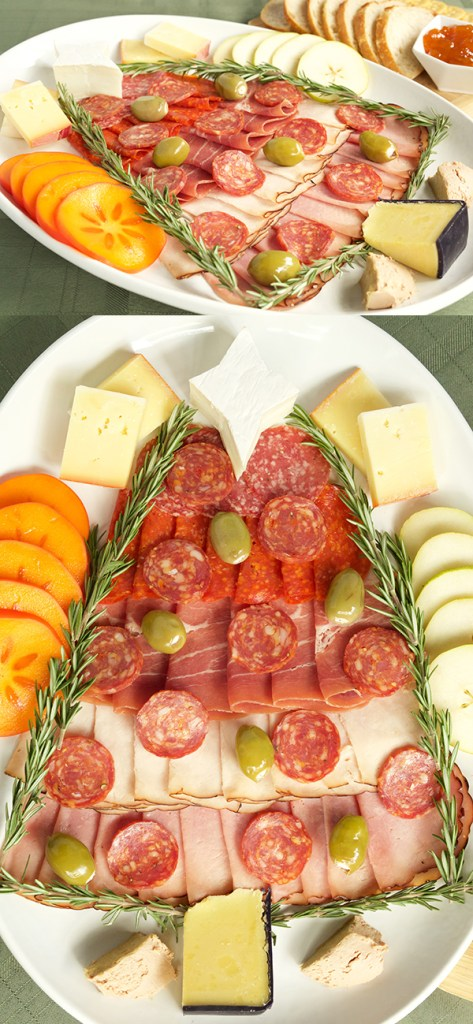 christmas-tree-charcuterie-meat-cheese-tray