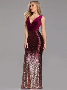 velvet-sequin-formal-gown
