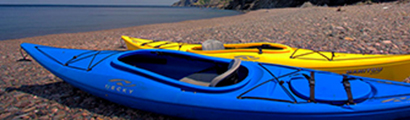 kayaking in Meat Cove