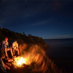 Campfire Meat Cove Campground