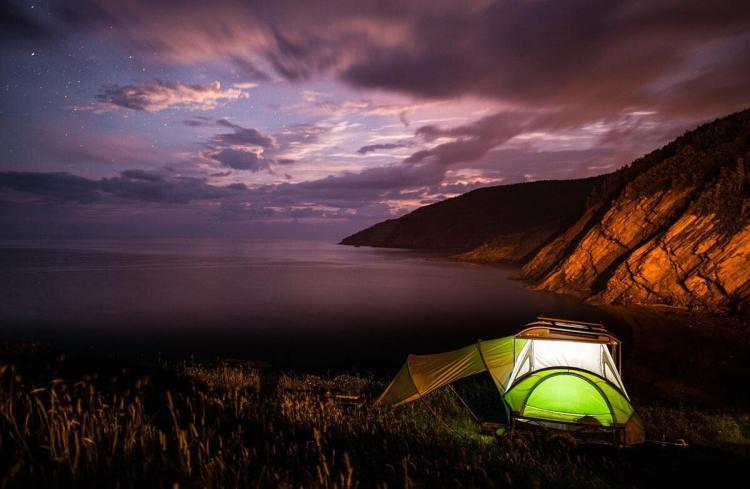 Camping in Cape Breton