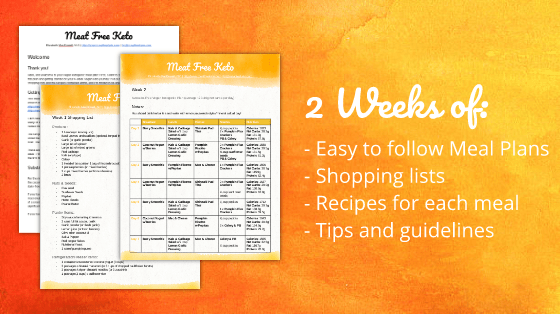 Two Week Vegan Ketogenic Meal Plan | Meat Free Keto - The perfect way to kick start your vegan ketgenic journey! Two weeks of low carb meal plans, recipes and shopping lists, that are nutritionally balanced and happen to be gluten free and avocado free as well!