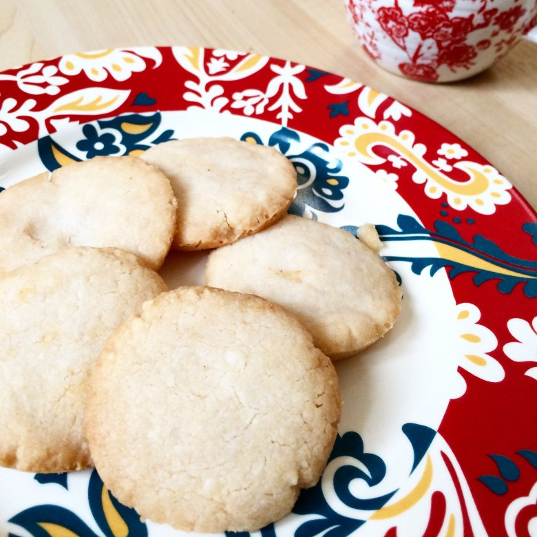 AIP paleo shortbread cookies - vegan, grain free, low carb, delicious and super simple!