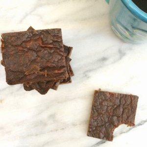 Keto Peanut Butter Brownies | low carb, sugar free, grain free, gluten free, egg free, dairy free
