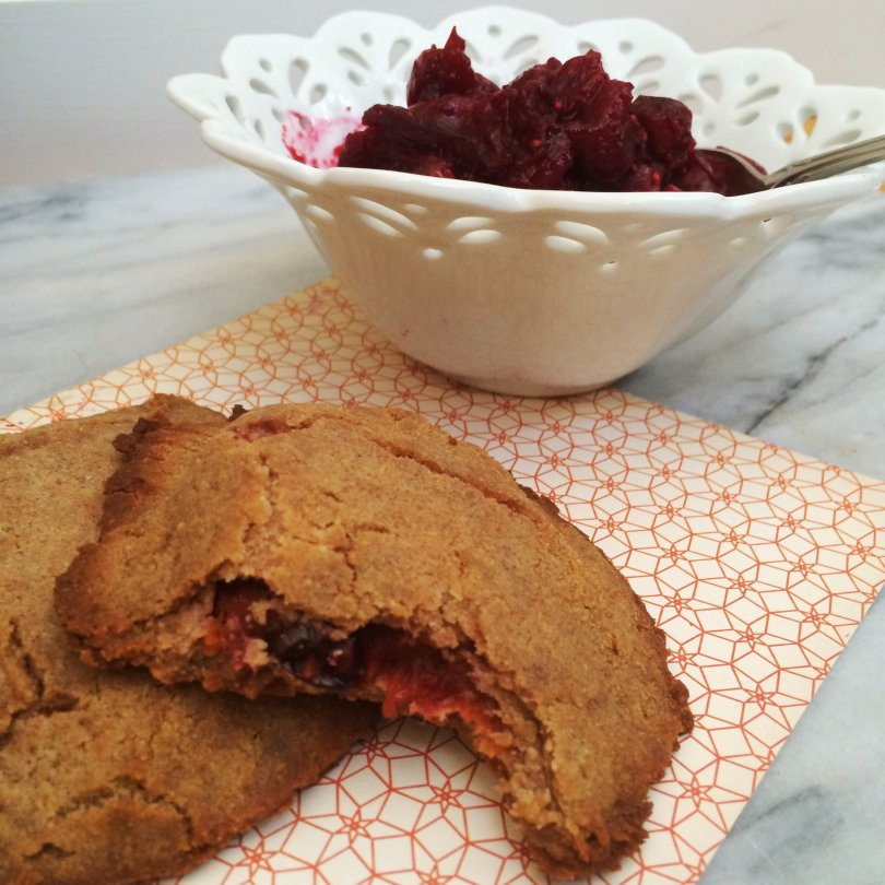 Low Carb Cranberry Pumpkin Pocket Pies - Happy keto Thanksgiving, indeed!