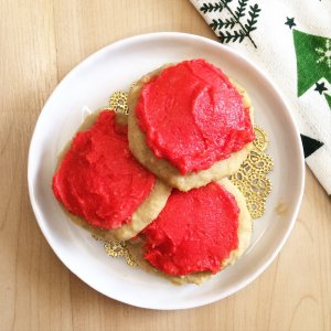 Lofthouse Style Low Carb Sugar Cookies | a super delicious, keto friendly, sugar free treat!
