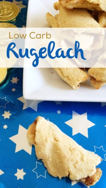 Low Carb Rugelach | Gluten free, sugar free & nut free Hanukkah deliciousness!