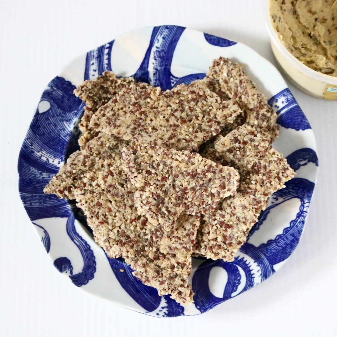 Low Carb Raw Vegan Crackers