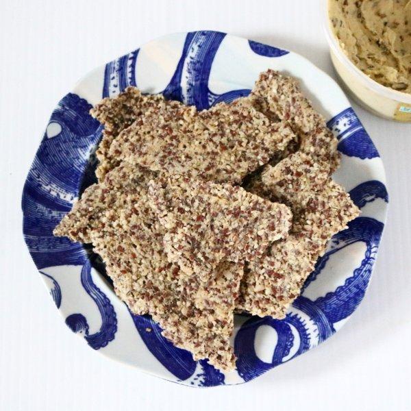 Low Carb Raw Vegan Crackers