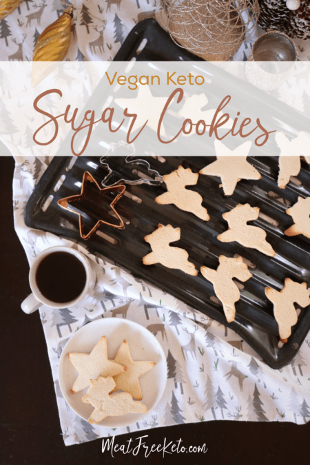Vegan Keto Sugar Cookies