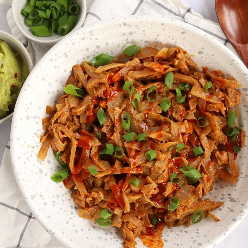 Vegan Keto Taco Slaw (gluten-free, soy-free, no added oils)