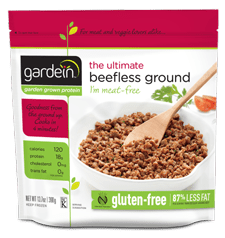 The Best Low Carb Meat Substitutes   Gardein Beefless Ground