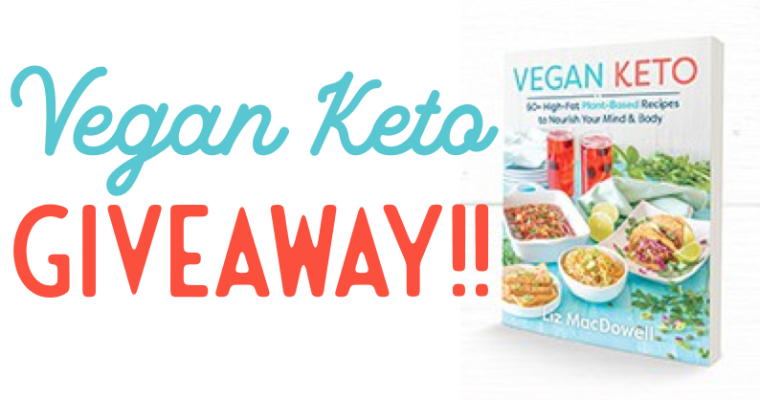 Vegan Keto Cookbook Giveaway!