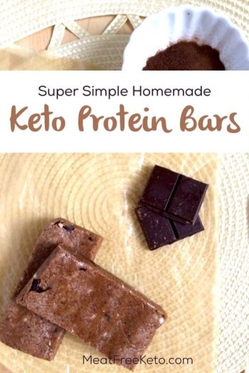 Homemade Keto Protein Bar Formula - a super simple recipe for lots of low carb protein bars!
