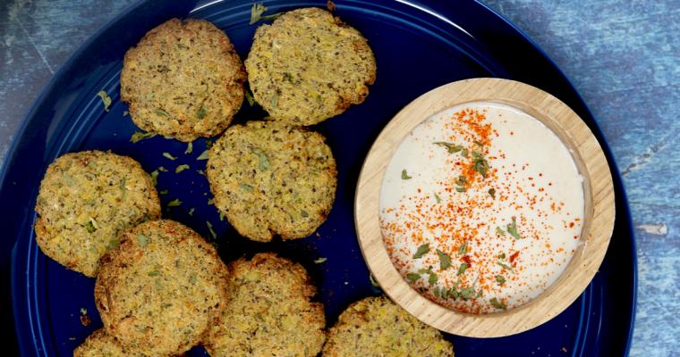 Air Fryer Vegan Keto Falafel (gluten-free, nut-free, soy-free)