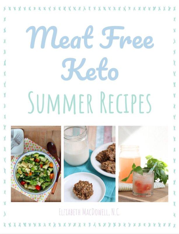 Meat Free Keto Vegan Keto Cookbook Preorder Gift