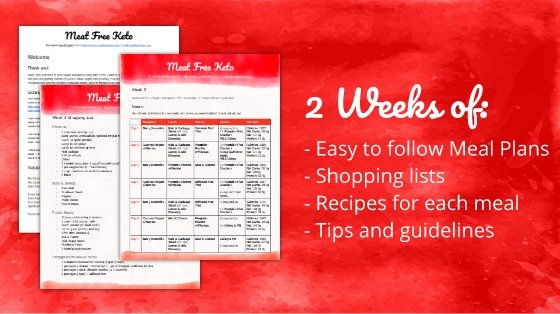 Two Week Soy-Free, Gluten-Free Vegan Ketogenic Meal Plan | Meat Free Keto - The perfect way to kick start your vegan ketgenic journey! Two weeks of low carb meal plans, recipes and shopping lists, that are nutritionally balanced, under 20g of net carbs per day and happen to be gluten-free and soy-free free as well!