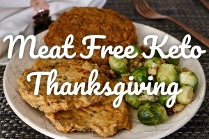 Vegan Keto Thanksgiving Recipes | Meat Free Keto - a collection of low carb, gluten free vegan recipes to help you make the most of this Thanksgiving!