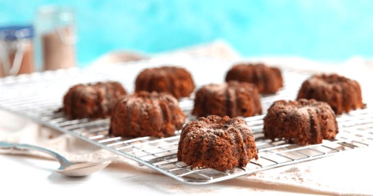 Low Carb Vegan Carrot Cake (gluten-free, nut-free, paleo)