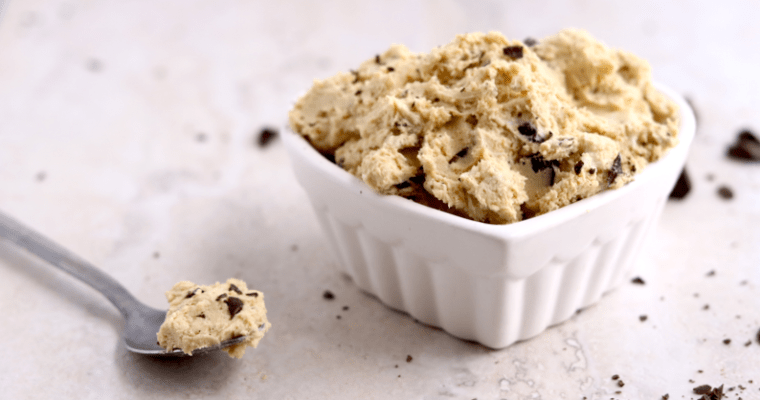 Low Carb Vegan Cookie Dough