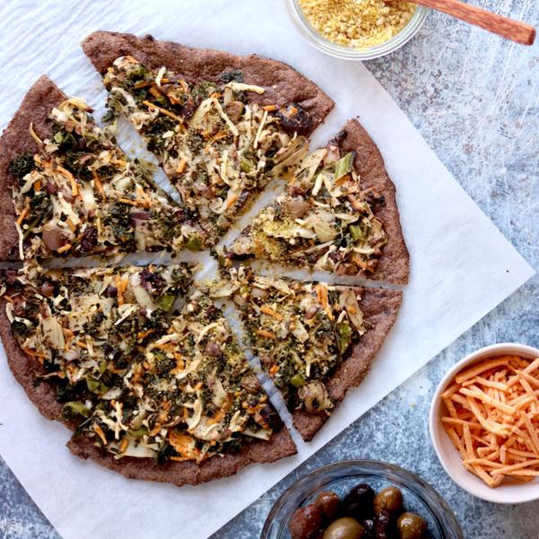 Vegan Fathead Pizza Crust