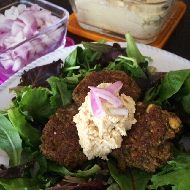 Low Carb Falafel