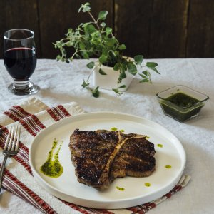 1 (28oz) Porterhouse Steak Dry Age Signature-0