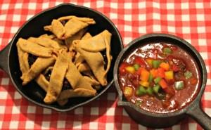 Chili and Hamantaschen