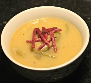 Rosh Hashanah Zucchini Soup