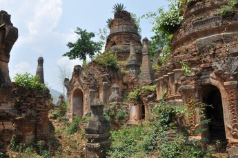 More Pagodas at Indein