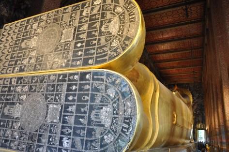Buddha's feet at Wat Pho