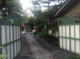 The entrance to Divana Spa