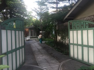 The entrance to Divana Spa