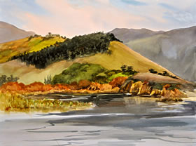Carmel River Mouth 22x30