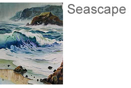 Watercolor Seascapes