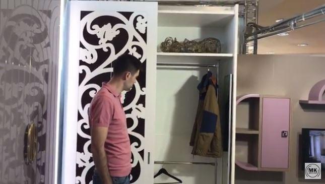 Презентация шкафа с резным декором